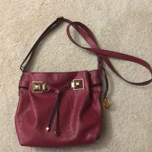 Deep red Jessica Simpson Cross Body